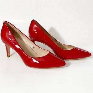Kate Spade Vida Patent Red Leather Pumps